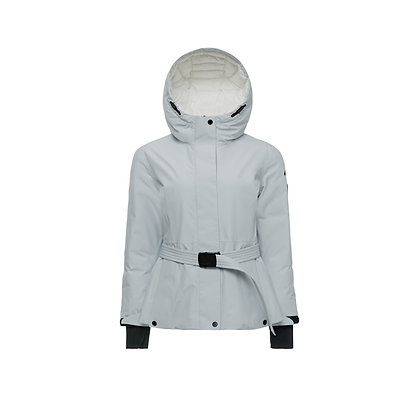 Hooded Gore-TEX Shell Jacket with Belt