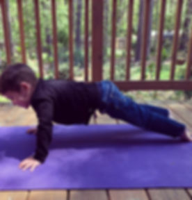 Toddler and Me Yoga starts tomorrow! The