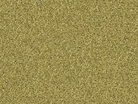 Gold Glitter Freebie