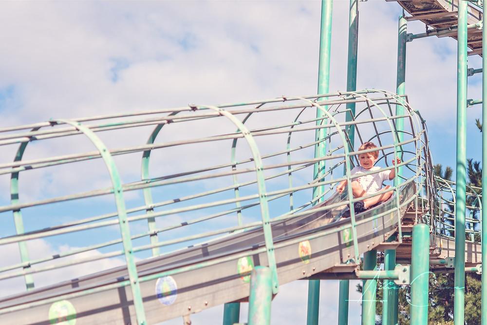 Tobaru Park roller slide