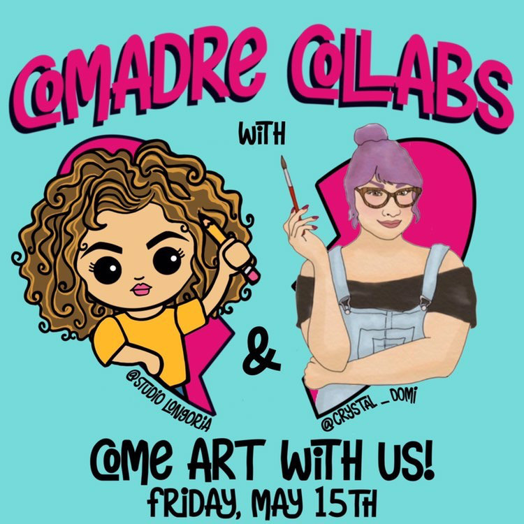 Comadre Collabs with Studio Longoria and Crystal Domi