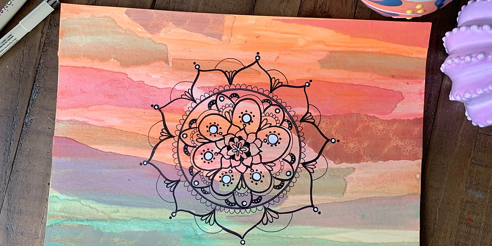 Art for Self Love with Crystal Domi
