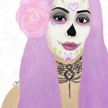 Sugar Skull Chica, 2017