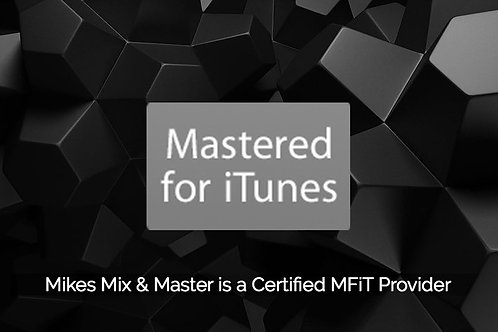 Mastering for iTunes (MFiT) Upgrade