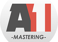 The official company logo for A1 Mastering