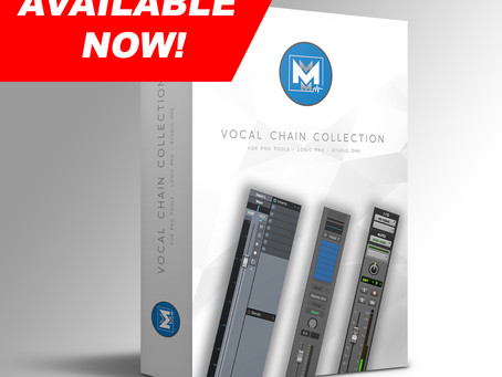 Vocal Chain Collection Available NOW