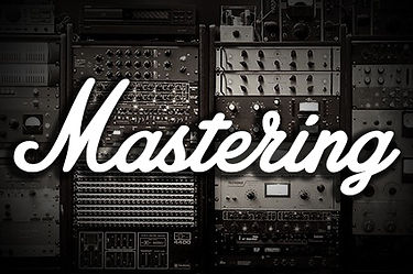 """Collection of audio hardware with the words """"Mastering"""" o top"""