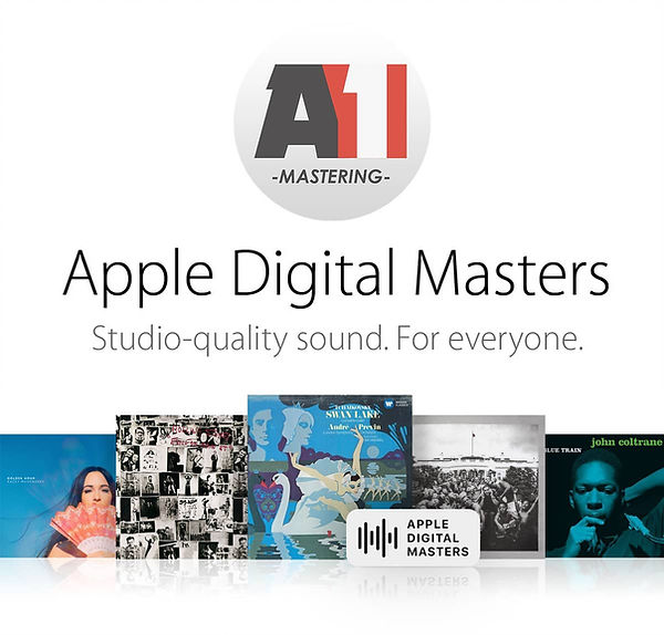 Apple Digital Masters by A1 Mastering