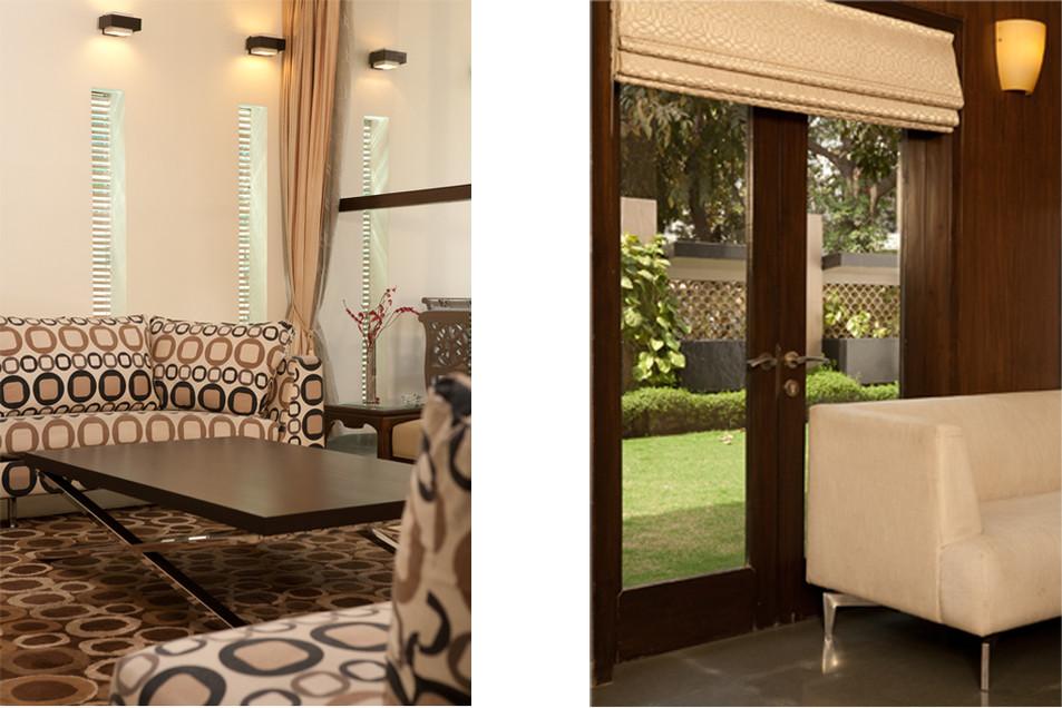 Elegant Furniture Details in the Living