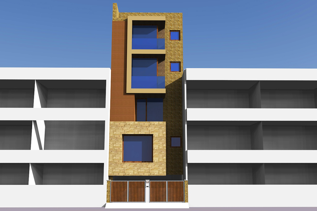 Front_elevation_of_the_thin_house,New_Delhi_©_AKDA.jpg