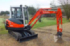 We offer a plant and digger/excavator hire service in Uttoxeter
