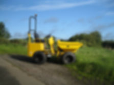 We offer plant equipment for hire with driver operator in Uttoxeter Staffordshire