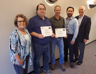 Barrios Recognizes Employees with Quarterly Performance Awards