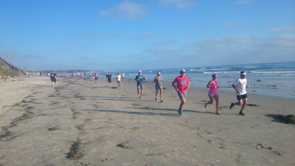 beach running 2
