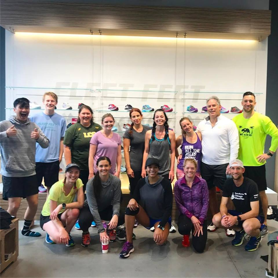 Fleet Feet Run Group Wed