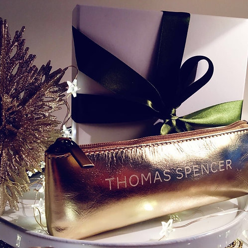 The Thomas Spencer Edition: Gold Leather Bag