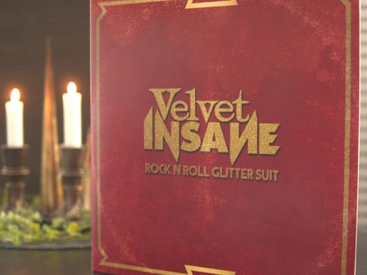 REVIEW - Velvet Insane - 'Rock 'n' Roll Glitter Suit' (Album - Wild Kingdom Records)