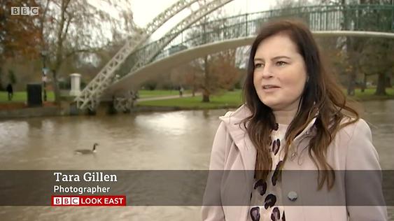 Photographer Tara Gillen - BBC Look East