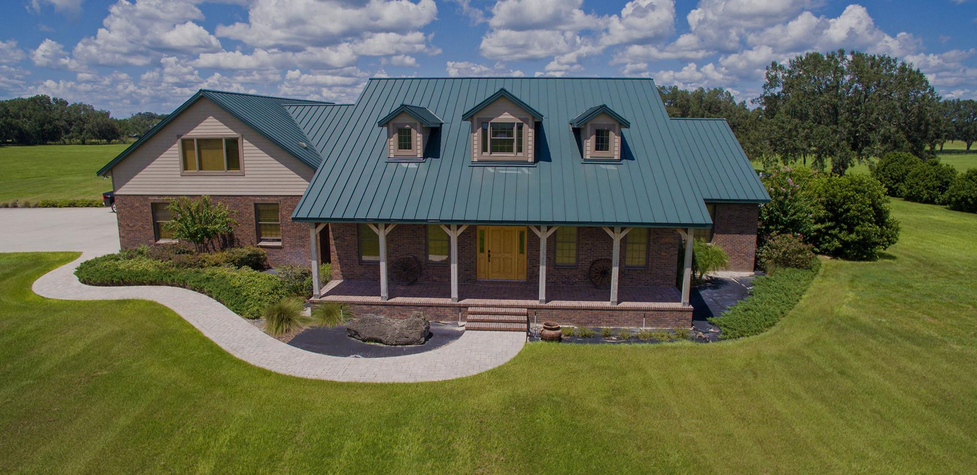 Large Farm - Custom Home