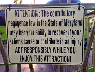 Contributory Negligence in Maryland, Virginia and the District of Columbia: Still Alive After All of
