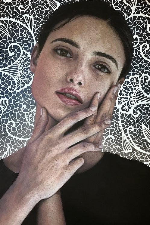 """Gentle"" 7x10.5in Artist Print"