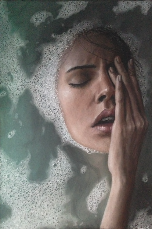 """Ablution"" 12x18in."