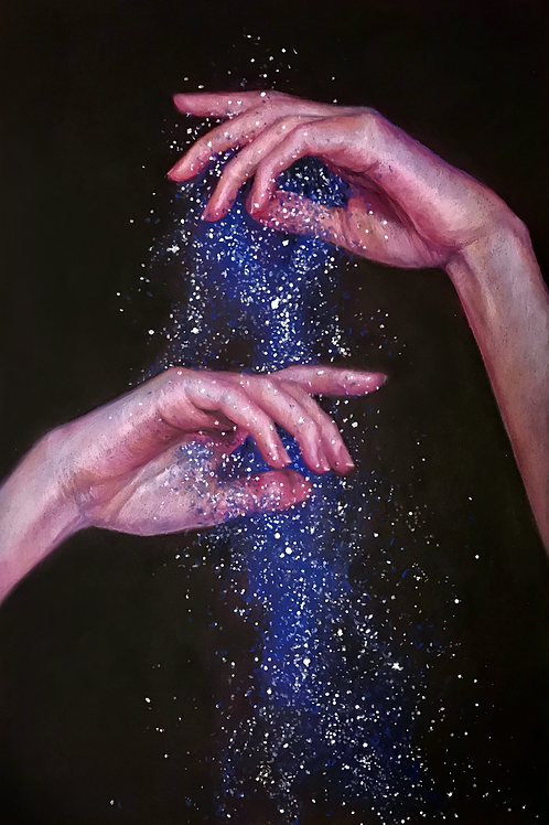 """Sparkle"" 11x14in. Large Print"