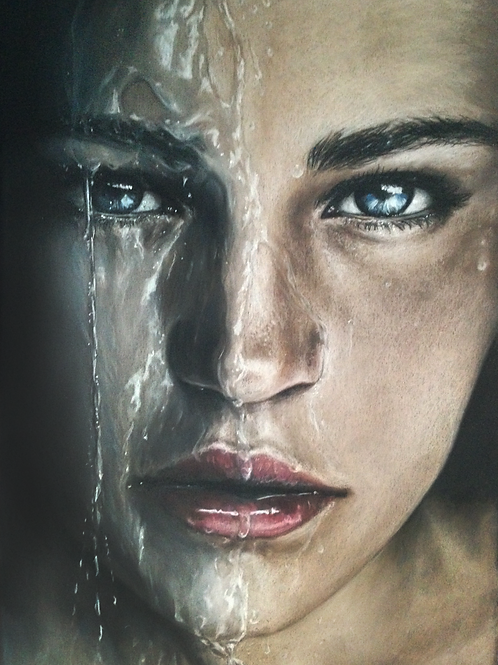 """""""Douse"""" 12x18in."""