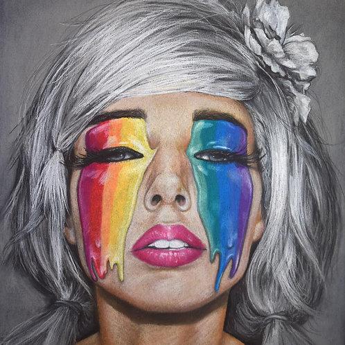 """""""Pride"""" 7x9.25in Artist Print"""