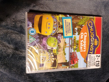 New Sealed chuggington dvd