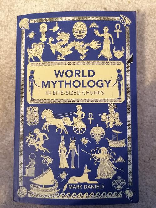 Bite size mythology paper back book