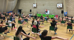 Lou Sams Zumba Sentao Class (chair work for legs, tum and bum) Weymouth Dorchester