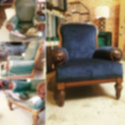 Antique Chair Restoration & ReUpholstery