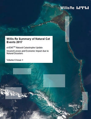 Willis Re Summary of Natural Cat Events 2017