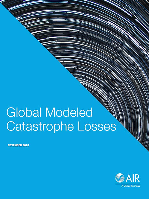 AIR - Global Modeled Catastrophe Losses 2018