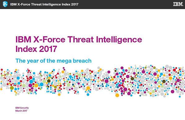IBM X-Force Threat Intelligence Index 2017
