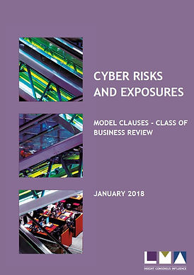 CYBER RISKS AND EXPOSURES MODEL CLAUSES