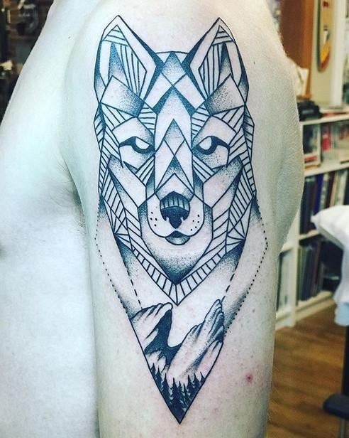 Tattoo I did last week thanks again Rile