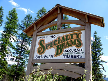 Specialty Beams Sign Frame