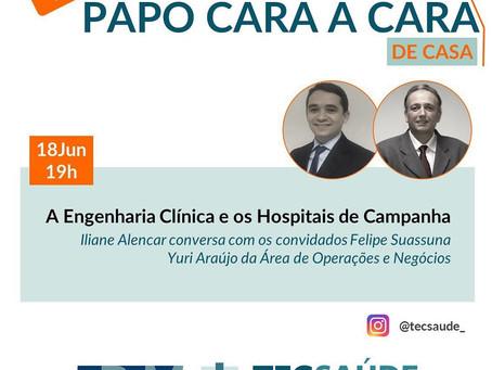 A infraestrutura nos Hospitais de Campanha, aspectos técnicos e mercadológicos.