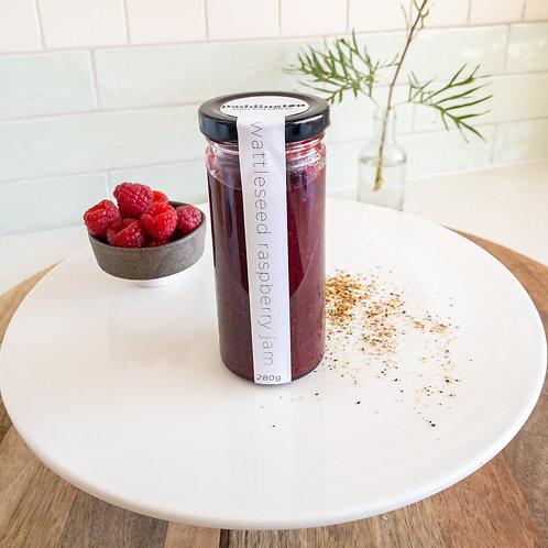 Wattleseed & Raspberry Jam