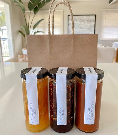 Paddington Jams and Sauces trio pack of