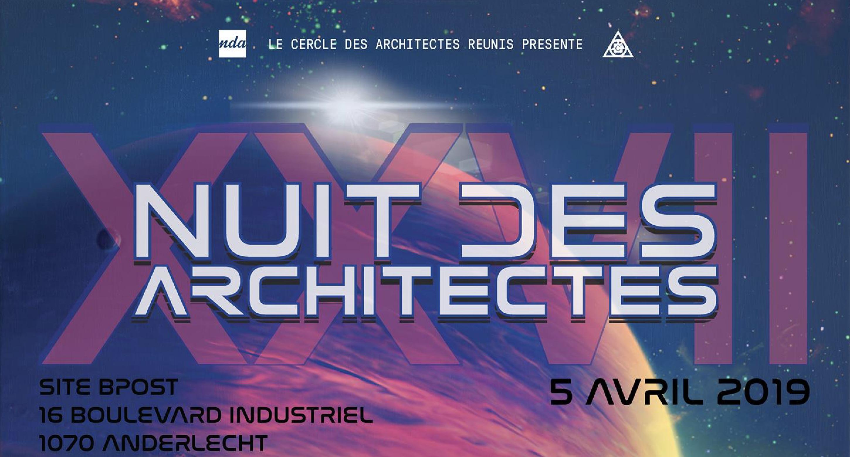 10. XXVII Nuit des Architectes