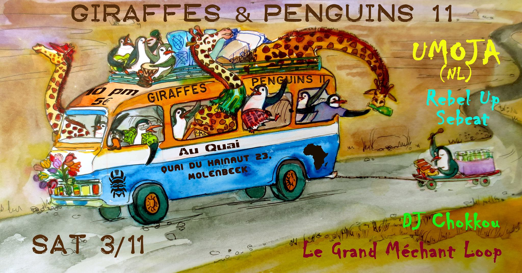 16. Giraffes & Penguins #11 feat