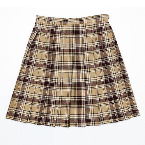 Buiii プリーツスカート キャメル BUISK-0001