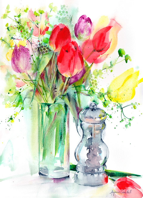Tulips and Peppercorn