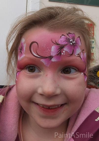 Flower Facepainting