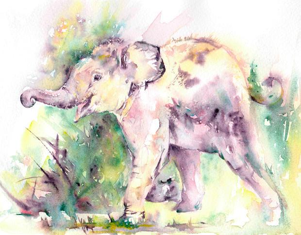 Barney Elephant