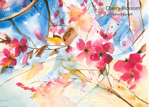 Set of 3 A6 Greetings Cards - Spring Collection