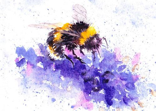 Bee Blank Greetings Card